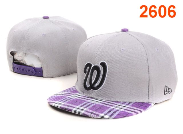 Washington Nationals MLB Snapback Hat PT138